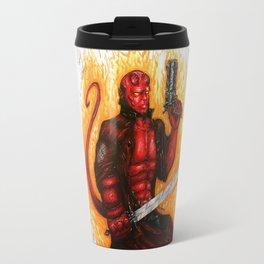 Hell boy Travel Mug