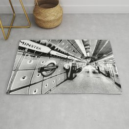 Going Underground Art Rug