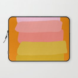 Abstract Sunset Colors Laptop Sleeve