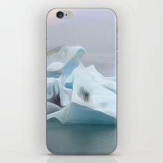 Icelandic Icebergs iPhone & iPod Skin