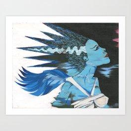 Heart of the Monster Art Print