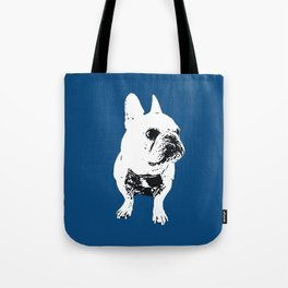 George the cutest French Bulldog Tote Bag