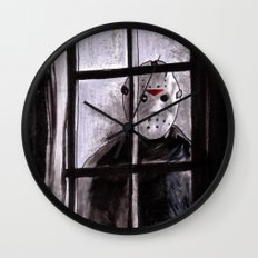 Jason Lives Wall Clock
