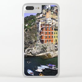 Bucket list view Clear iPhone Case