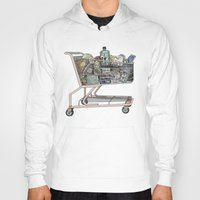 shopping Hoodies featuring The Shopping by Mitzi Akaha