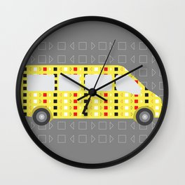 Minivan Wall Clock