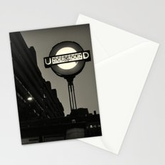 London Temple Undergroung Station Stationery Cards