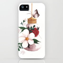 Unexpected Terrarium Moth iPhone Case