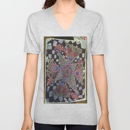 Homeless Ball Point Universe Unisex V-Neck