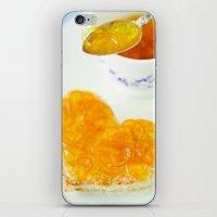 breakfast iPhone & iPod Skins featuring BREAKFAST by Ylenia Pizzetti