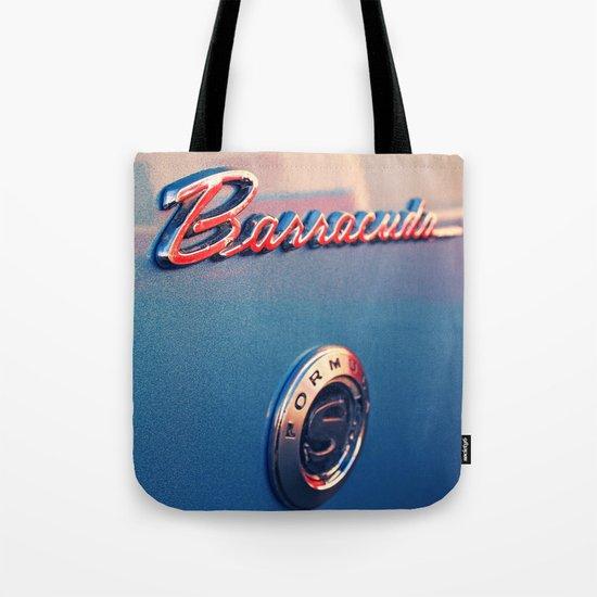 Barracuda Americana Tote Bag