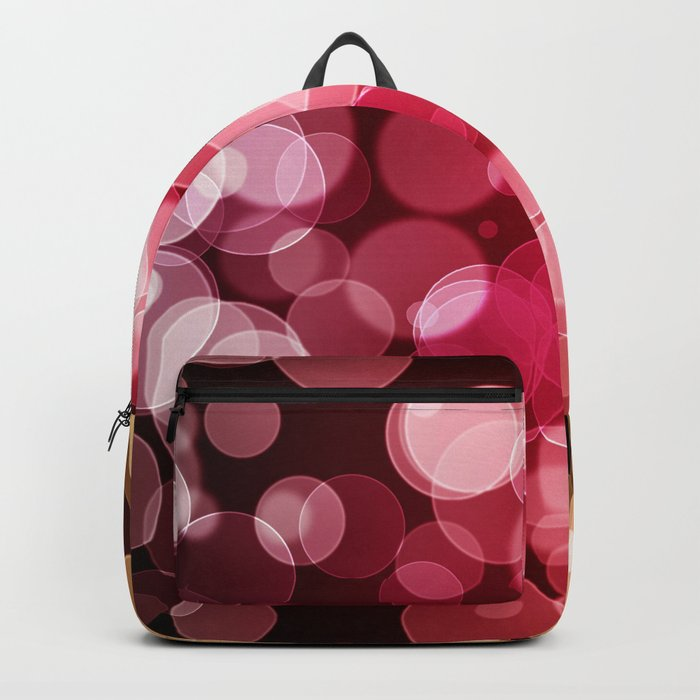 Bokeh Background Backpack