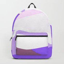 Blue and Lavender Waves Backpack