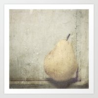 pear Art Prints featuring PEAR by Studio2