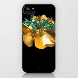 Fractal Christmas Bells iPhone Case