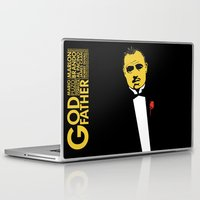 the godfather Laptop & iPad Skins featuring GODFATHER by miszkurka
