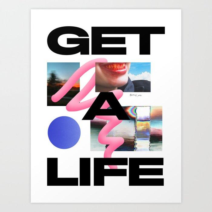 Motivational poster Art Print
