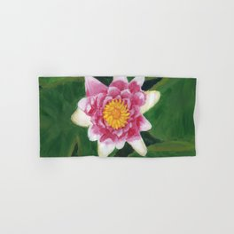 Water Lily Hand & Bath Towel