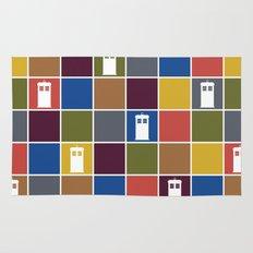 TARDIS Tiles Rug
