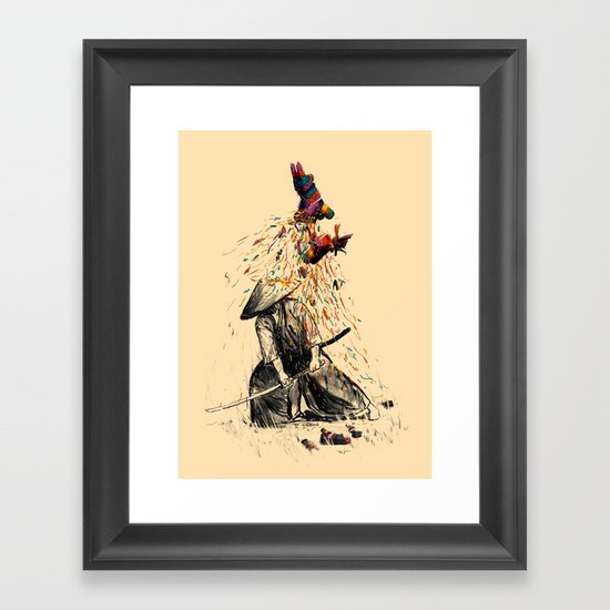 Target Practice Framed Art Print By Nicebleed Society6