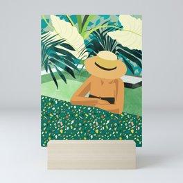 Chill #illustration #travel Mini Art Print