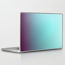 AQUA / Plain Soft Mood Color Blends / iPhone Case Laptop & iPad Skin