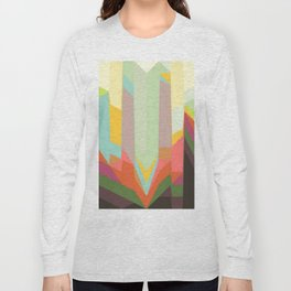 line abstract Long Sleeve T-shirt