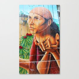 San Francisco Street Mural Canvas Print