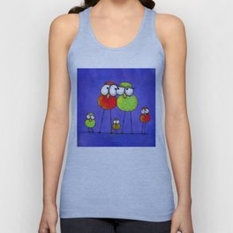 Love Birds Unisex Tank Top
