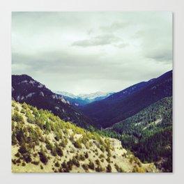 Mountains on Mountains Canvas Print