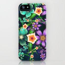 Flower Crop iPhone Case