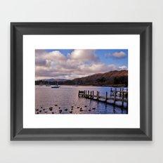 Windermere Lake District Framed Art Print