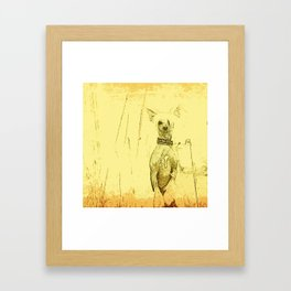 Chinese crested 23 Framed Art Print