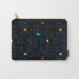 Pac-Man Retro Arcade Gaming Design Carry-All Pouch