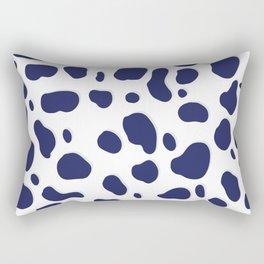 Cobalt Feline Rectangular Pillow