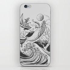 Deep and Blue iPhone & iPod Skin