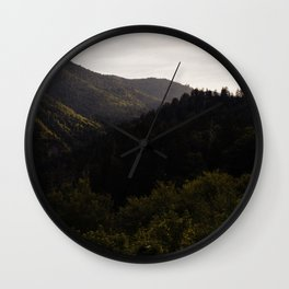 Great Smoky Mountains Wall Clock
