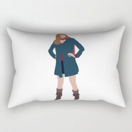 Amy Pond: The Girl Who Waited Rectangular Pillow