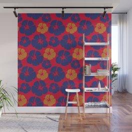 Beach Hibiscus Tropical Floral Wall Mural