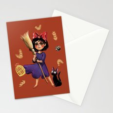 Kiki and Jiji Stationery Cards