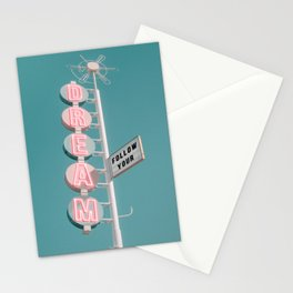FOLLOW YOUR DREAM Stationery Cards