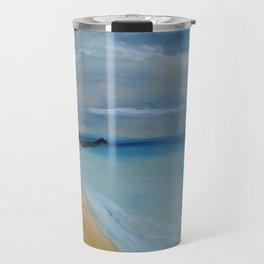 Hula Grass Skirt Travel Mug