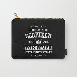 Prison Break Scofield Fox River Penitentiary Carry-All Pouch