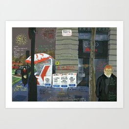 London #3. Berkeley Street W1 Art Print