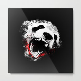 A ferocious bear Metal Print