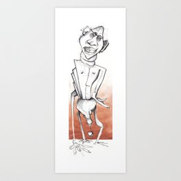 Luck drags  Art Print