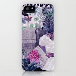 353 plants I need to breathe iPhone Case
