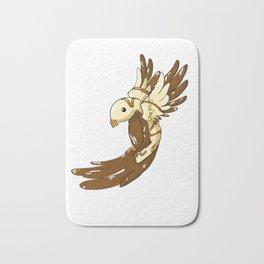 Chocolate Cream Bird Bath Mat