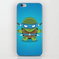 leonardo iPhone & iPod Skins featuring Leonardo by LAckas