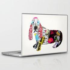 dachshund graffiti Laptop & iPad Skin